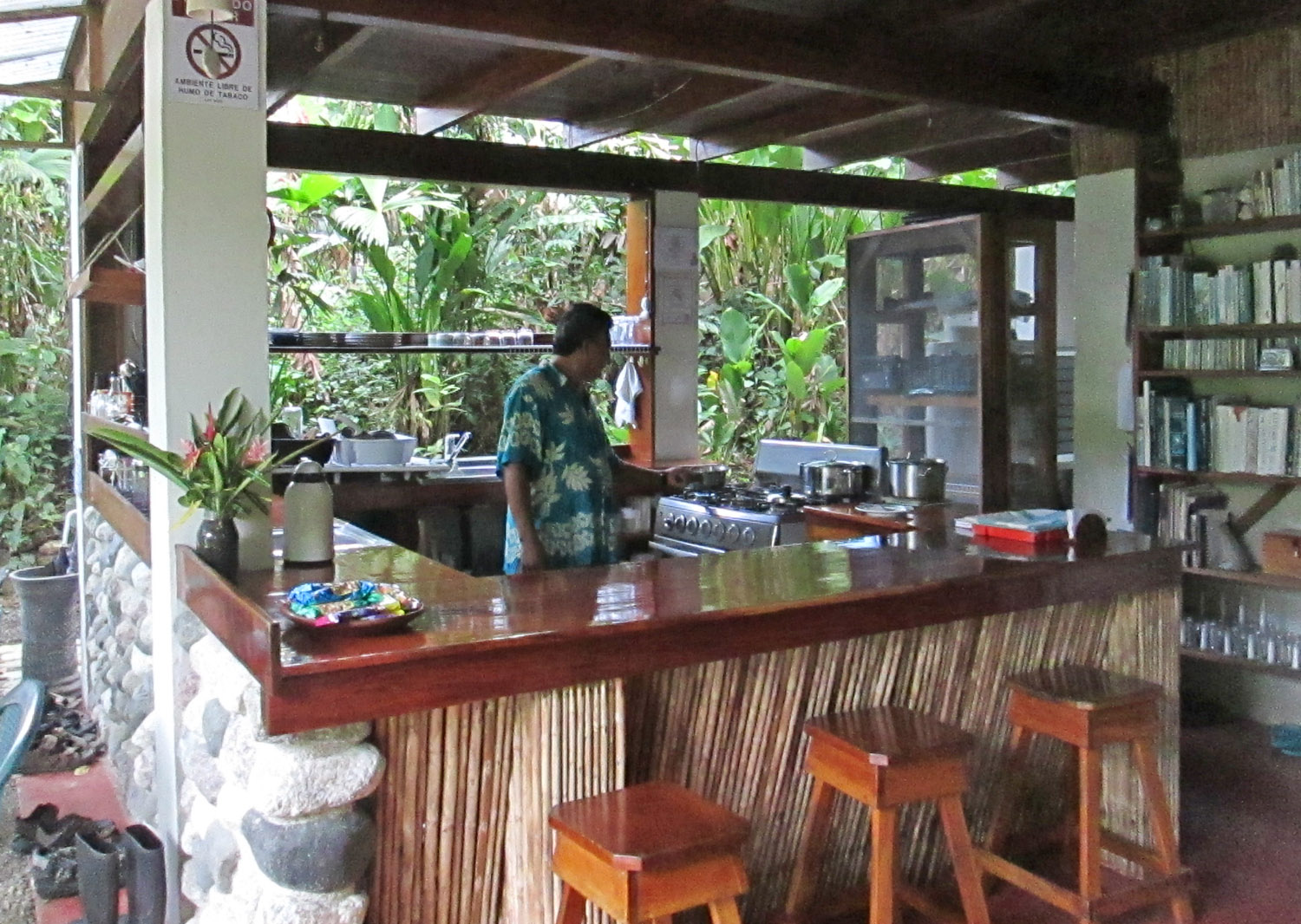We serve extraordinary meals in the best rainforest in Costa Rica