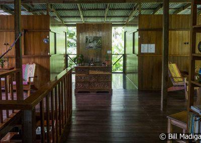 Second Floor of Lodge