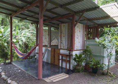 The private garden cabina on the Osa Peninsula