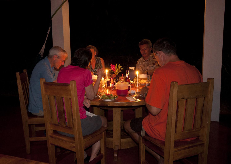 osa peninsula dining