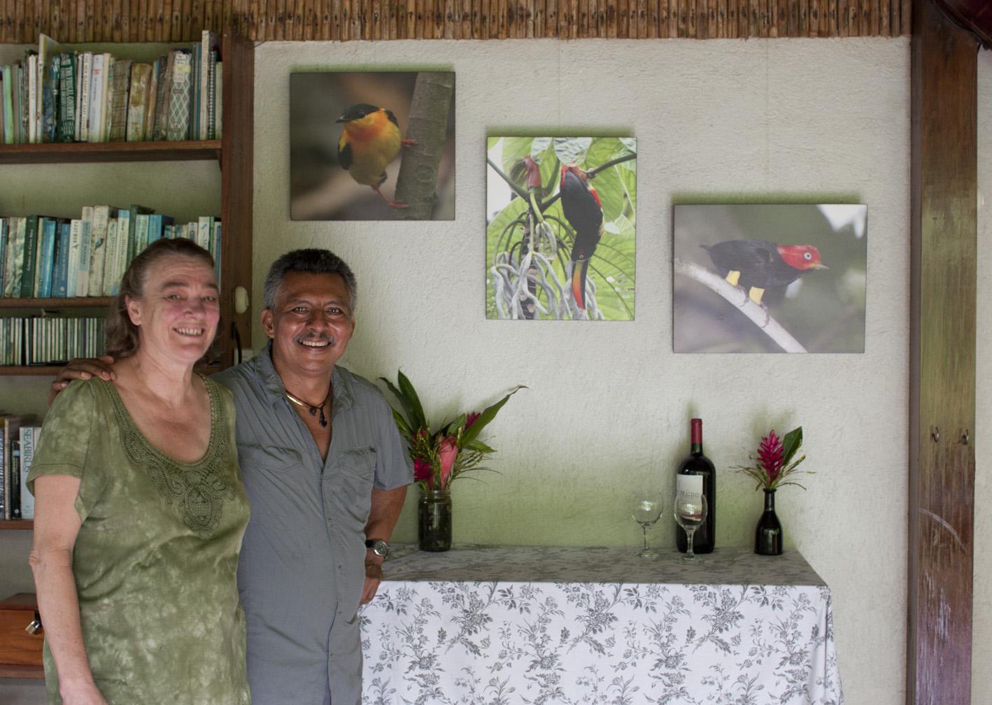Your hosts at Bosque del Rio Tigre Lodge, near Corcovado National Park, Osa Peninsula, Costa Rica